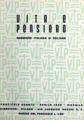 VITA E PENSIERO - 1940 - 4