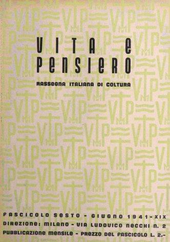 VITA E PENSIERO - 1941 - 6