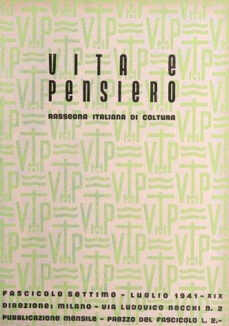 VITA E PENSIERO - 1941 - 7