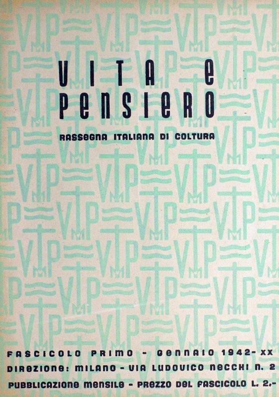 VITA E PENSIERO - 1942 - 1 (2)