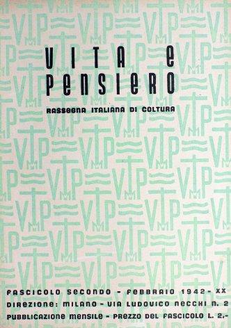 VITA E PENSIERO - 1942 - 2