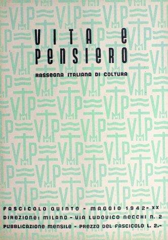 VITA E PENSIERO - 1942 - 5