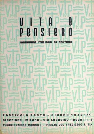 VITA E PENSIERO - 1942 - 6