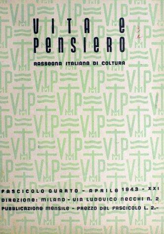 VITA E PENSIERO - 1943 - 4