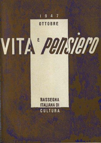 VITA E PENSIERO - 1947 - 10