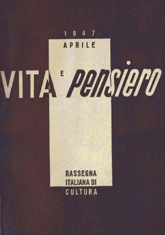VITA E PENSIERO - 1947 - 4