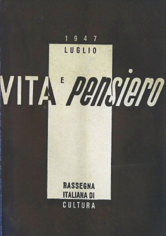 VITA E PENSIERO - 1947 - 7
