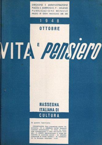 VITA E PENSIERO - 1948 - 10