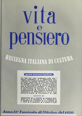VITA E PENSIERO - 1950 - 10