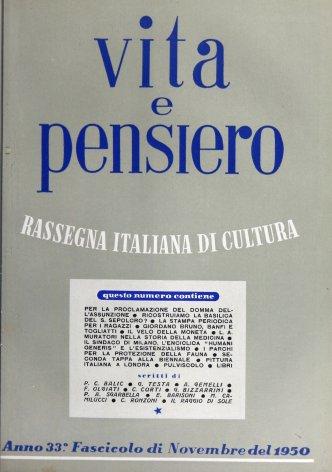 VITA E PENSIERO - 1950 - 11