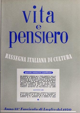 VITA E PENSIERO - 1950 - 7