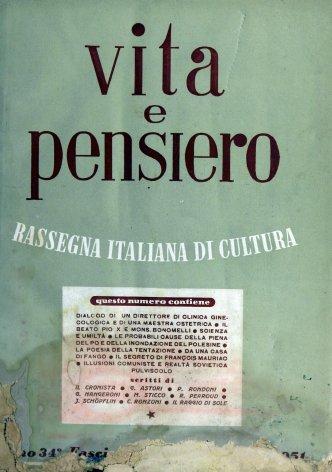 VITA E PENSIERO - 1951 - 12