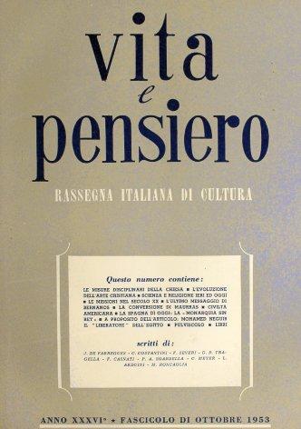 VITA E PENSIERO - 1953 - 10