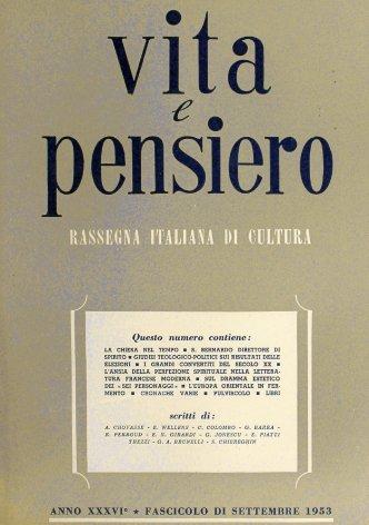 VITA E PENSIERO - 1953 - 9