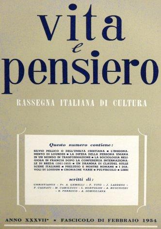 VITA E PENSIERO - 1954 - 2