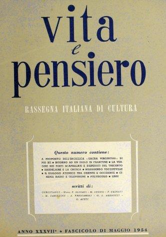 VITA E PENSIERO - 1954 - 5
