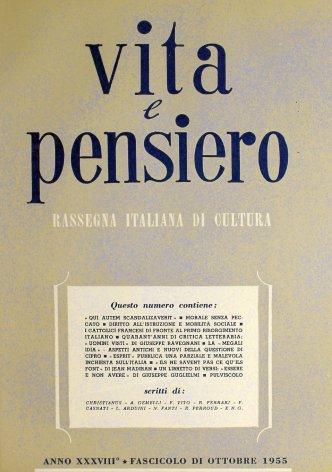 VITA E PENSIERO - 1955 - 10