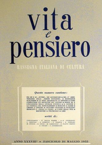 VITA E PENSIERO - 1955 - 5