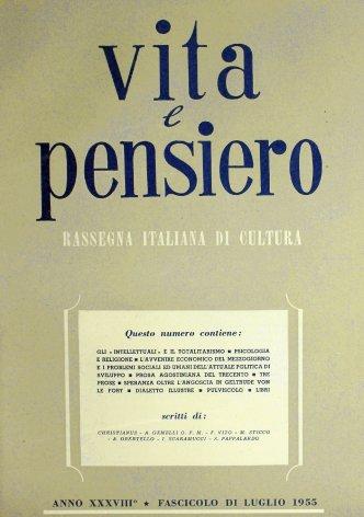 VITA E PENSIERO - 1955 - 7