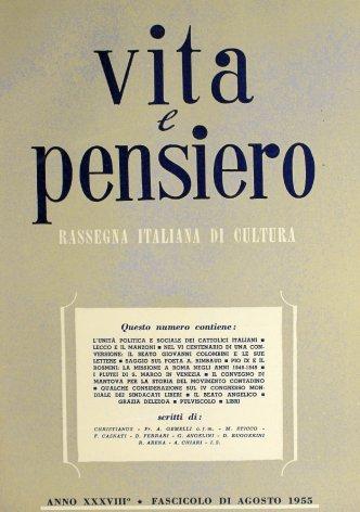 VITA E PENSIERO - 1955 - 8