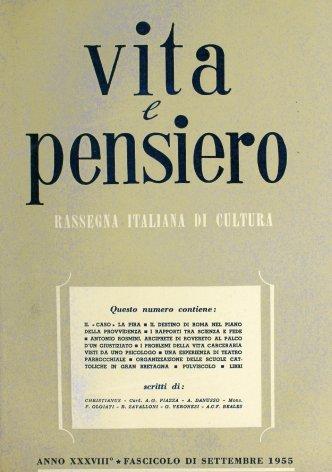 VITA E PENSIERO - 1955 - 9