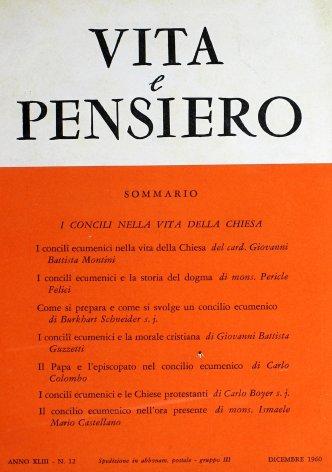 VITA E PENSIERO - 1960 - 12
