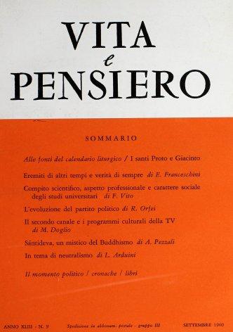 VITA E PENSIERO - 1960 - 9