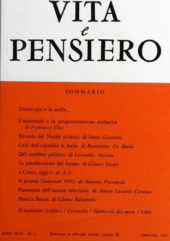 VITA E PENSIERO - 1963 - 1