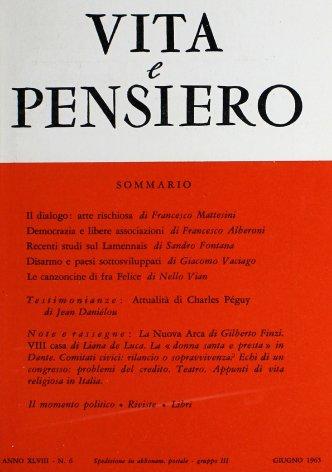 VITA E PENSIERO - 1965 - 6