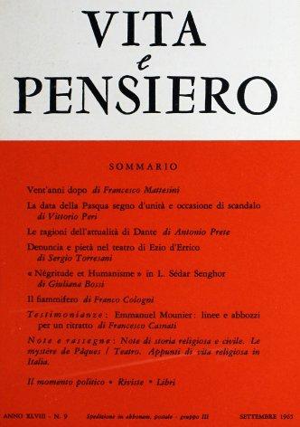 VITA E PENSIERO - 1965 - 9
