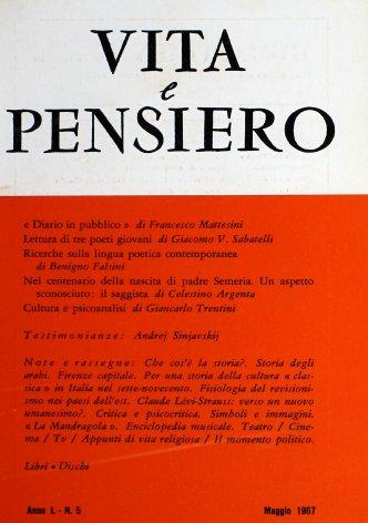 VITA E PENSIERO - 1967 - 5