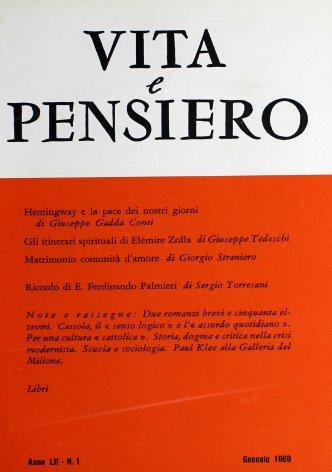 VITA E PENSIERO - 1969 - 1