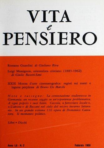 VITA E PENSIERO - 1969 - 2