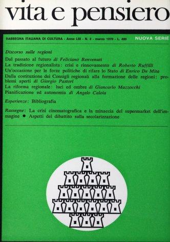 VITA E PENSIERO - 1970 - 3