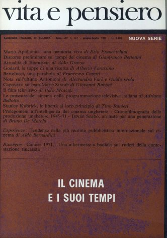 VITA E PENSIERO - 1971 - 6-7