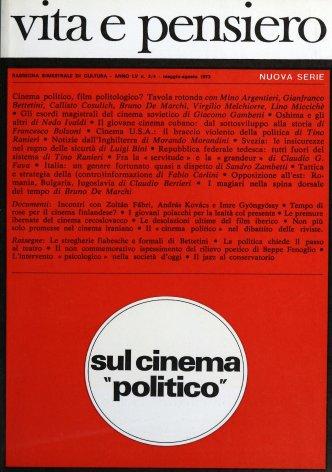 VITA E PENSIERO - 1973 - 3-4