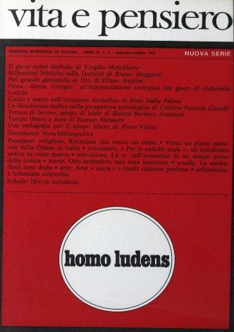 VITA E PENSIERO - 1973 - 5