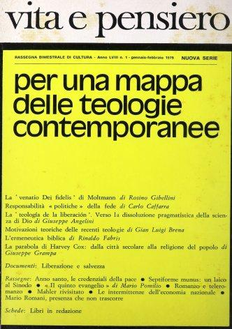 VITA E PENSIERO - 1975 - 1