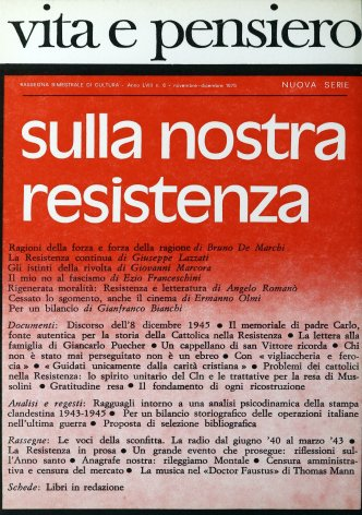 VITA E PENSIERO - 1975 - 6