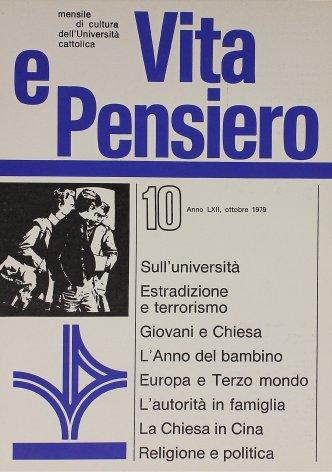 VITA E PENSIERO - 1979 - 10