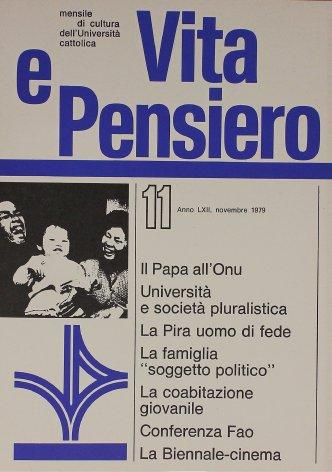 VITA E PENSIERO - 1979 - 11