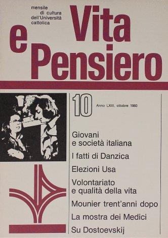 VITA E PENSIERO - 1980 - 10