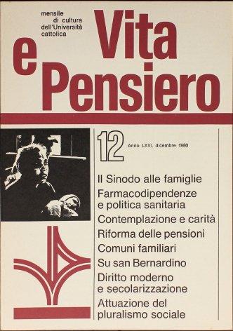 VITA E PENSIERO - 1980 - 12