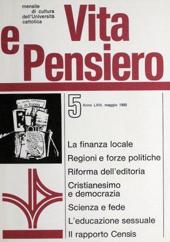 VITA E PENSIERO - 1980 - 5