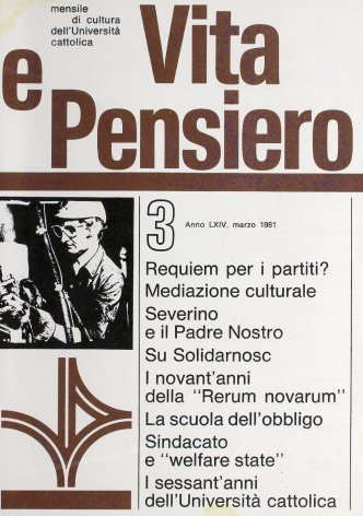 VITA E PENSIERO - 1981 - 3