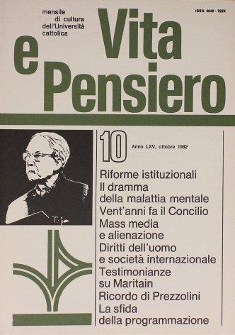 VITA E PENSIERO - 1982 - 10
