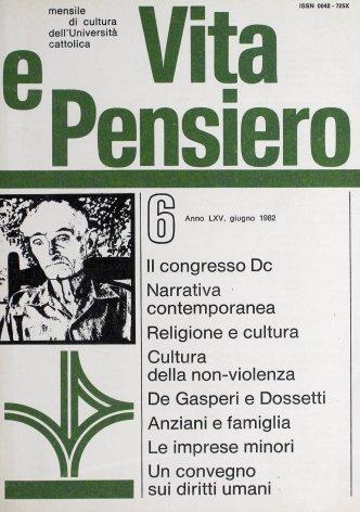 VITA E PENSIERO - 1982 - 6