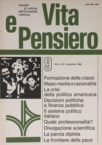 VITA E PENSIERO - 1982 - 9