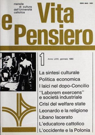VITA E PENSIERO - 1983 - 1