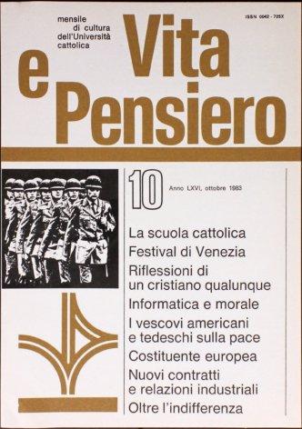 VITA E PENSIERO - 1983 - 10